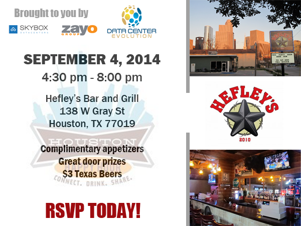 Houston Technology Happy Hour - Sept Event